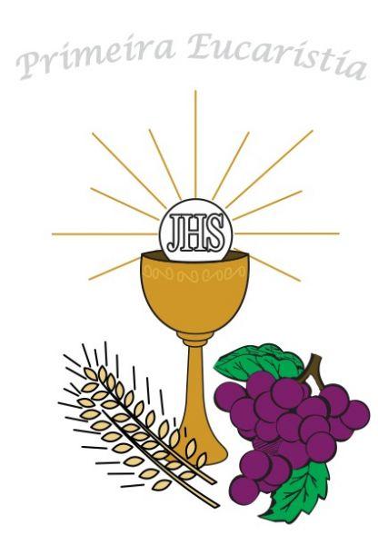 Vetores E Imagens Primeira Eucaristia Primeira Comunhao Foto